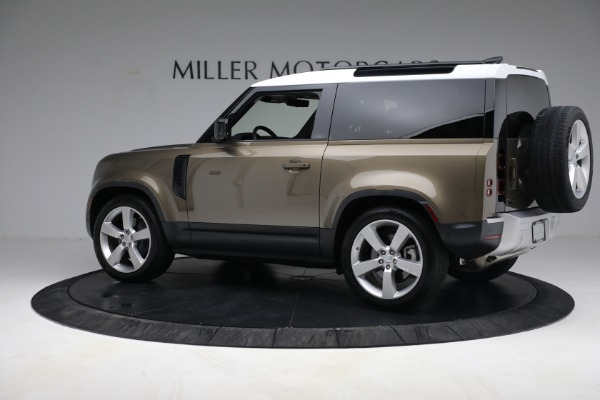 Used 2021 Land Rover Defender 90 First Edition for sale $69,900 at Rolls-Royce Motor Cars Greenwich in Greenwich CT 06830 4