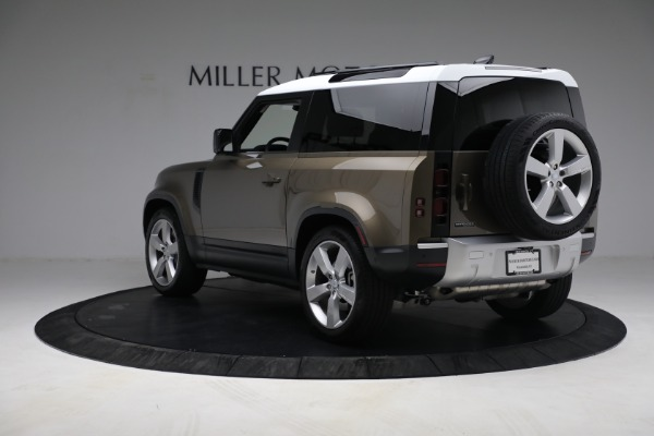 Used 2021 Land Rover Defender 90 First Edition for sale $69,900 at Rolls-Royce Motor Cars Greenwich in Greenwich CT 06830 5