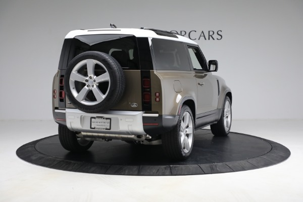 Used 2021 Land Rover Defender 90 First Edition for sale $69,900 at Rolls-Royce Motor Cars Greenwich in Greenwich CT 06830 7