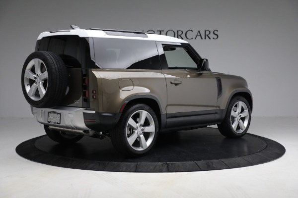 Used 2021 Land Rover Defender 90 First Edition for sale $69,900 at Rolls-Royce Motor Cars Greenwich in Greenwich CT 06830 8