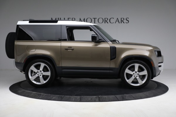 Used 2021 Land Rover Defender 90 First Edition for sale $69,900 at Rolls-Royce Motor Cars Greenwich in Greenwich CT 06830 9