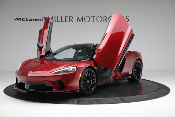 New 2021 McLaren GT Luxe for sale $217,275 at Rolls-Royce Motor Cars Greenwich in Greenwich CT 06830 13