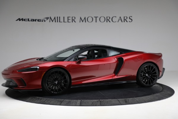 New 2021 McLaren GT Luxe for sale $217,275 at Rolls-Royce Motor Cars Greenwich in Greenwich CT 06830 2