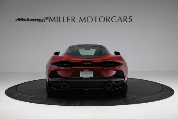 New 2021 McLaren GT for sale $217,275 at Rolls-Royce Motor Cars Greenwich in Greenwich CT 06830 6