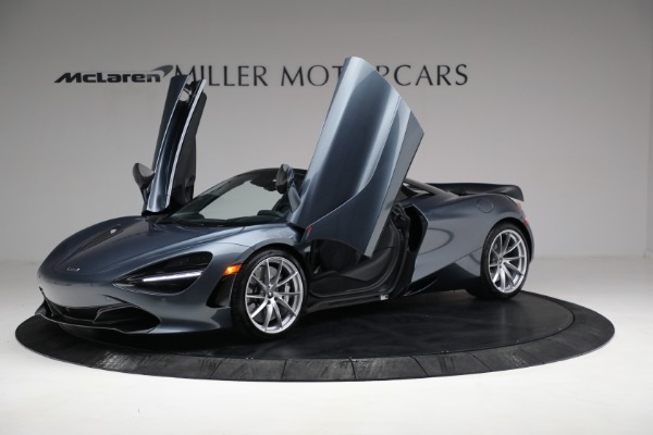 Used 2020 McLaren 720S Spider for sale $349,900 at Rolls-Royce Motor Cars Greenwich in Greenwich CT 06830 14