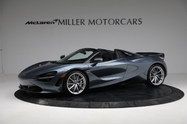 Used 2020 McLaren 720S Spider for sale $349,900 at Rolls-Royce Motor Cars Greenwich in Greenwich CT 06830 2