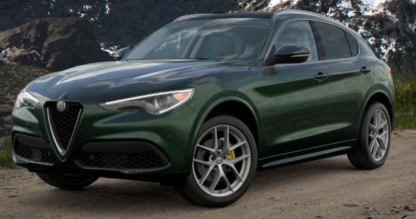 New 2021 Alfa Romeo Stelvio Ti for sale $57,750 at Rolls-Royce Motor Cars Greenwich in Greenwich CT 06830 1
