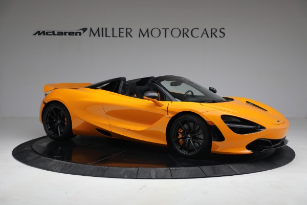 New 2021 McLaren 720S Spider for sale $378,110 at Rolls-Royce Motor Cars Greenwich in Greenwich CT 06830 10