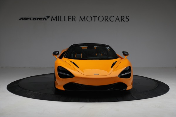 New 2021 McLaren 720S Spider for sale $378,110 at Rolls-Royce Motor Cars Greenwich in Greenwich CT 06830 12
