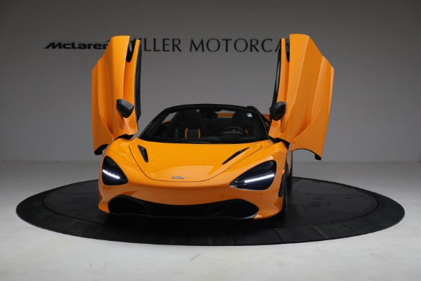 New 2021 McLaren 720S Spider for sale $378,110 at Rolls-Royce Motor Cars Greenwich in Greenwich CT 06830 13