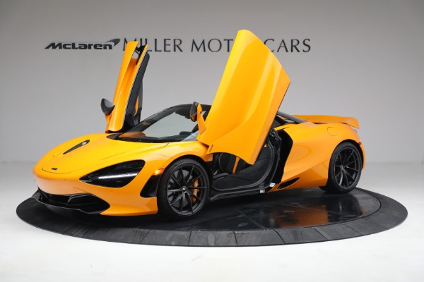 New 2021 McLaren 720S Spider for sale $378,110 at Rolls-Royce Motor Cars Greenwich in Greenwich CT 06830 14