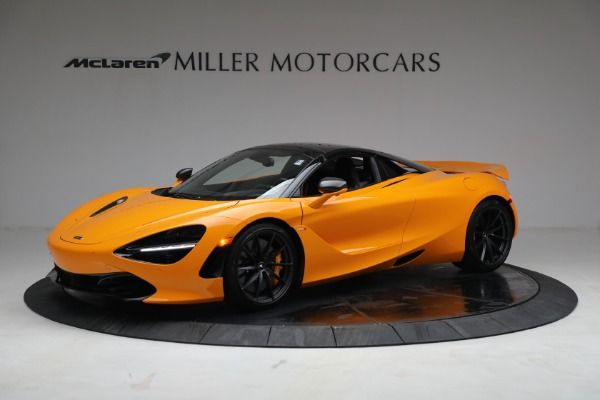 New 2021 McLaren 720S Spider for sale $378,110 at Rolls-Royce Motor Cars Greenwich in Greenwich CT 06830 15