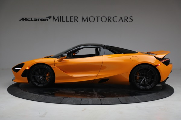 New 2021 McLaren 720S Spider for sale $378,110 at Rolls-Royce Motor Cars Greenwich in Greenwich CT 06830 16