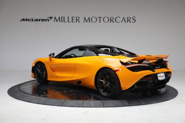 New 2021 McLaren 720S Spider for sale $378,110 at Rolls-Royce Motor Cars Greenwich in Greenwich CT 06830 17