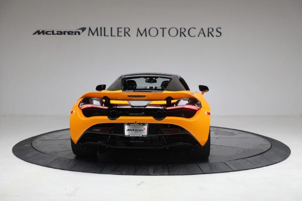 New 2021 McLaren 720S Spider for sale $378,110 at Rolls-Royce Motor Cars Greenwich in Greenwich CT 06830 18