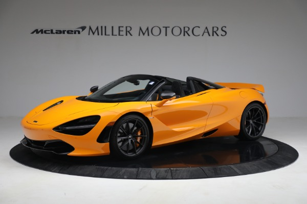 New 2021 McLaren 720S Spider for sale $378,110 at Rolls-Royce Motor Cars Greenwich in Greenwich CT 06830 2