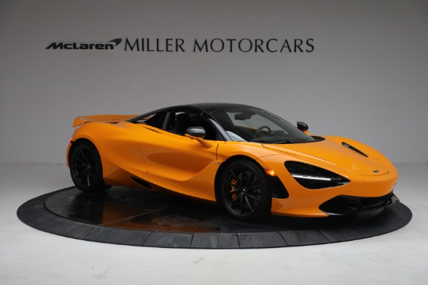 New 2021 McLaren 720S Spider for sale $378,110 at Rolls-Royce Motor Cars Greenwich in Greenwich CT 06830 21