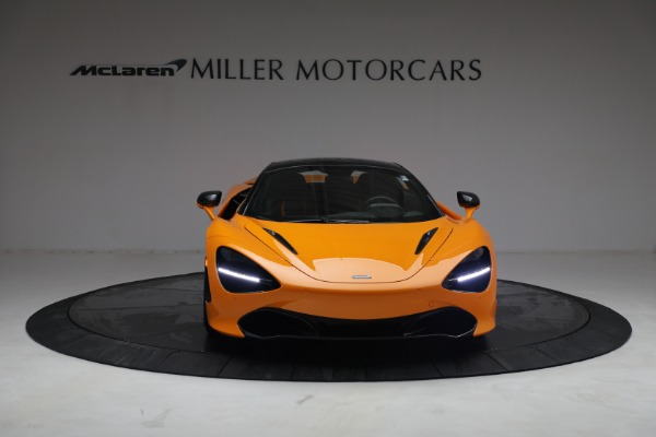 New 2021 McLaren 720S Spider for sale $378,110 at Rolls-Royce Motor Cars Greenwich in Greenwich CT 06830 22