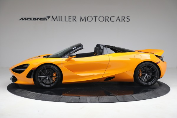 New 2021 McLaren 720S Spider for sale $378,110 at Rolls-Royce Motor Cars Greenwich in Greenwich CT 06830 3