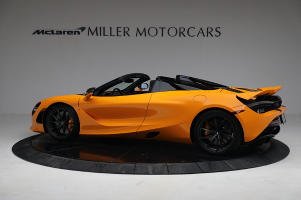 New 2021 McLaren 720S Spider for sale $378,110 at Rolls-Royce Motor Cars Greenwich in Greenwich CT 06830 4