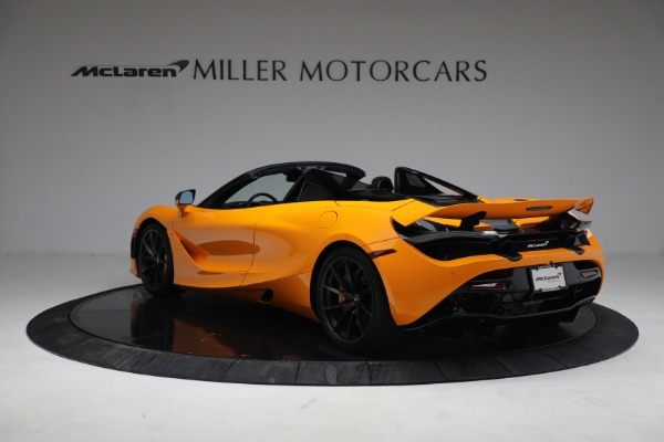 New 2021 McLaren 720S Spider for sale $378,110 at Rolls-Royce Motor Cars Greenwich in Greenwich CT 06830 5