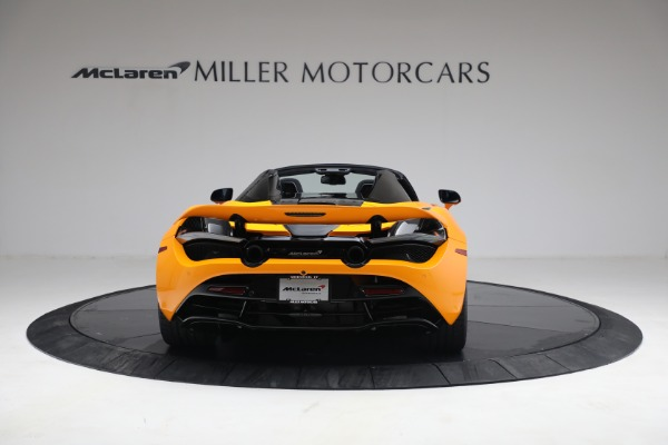 New 2021 McLaren 720S Spider for sale $378,110 at Rolls-Royce Motor Cars Greenwich in Greenwich CT 06830 6