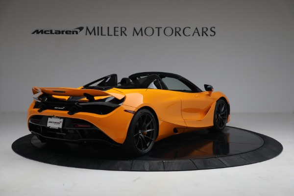 New 2021 McLaren 720S Spider for sale $378,110 at Rolls-Royce Motor Cars Greenwich in Greenwich CT 06830 7