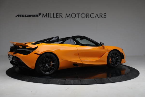 New 2021 McLaren 720S Spider for sale $378,110 at Rolls-Royce Motor Cars Greenwich in Greenwich CT 06830 8