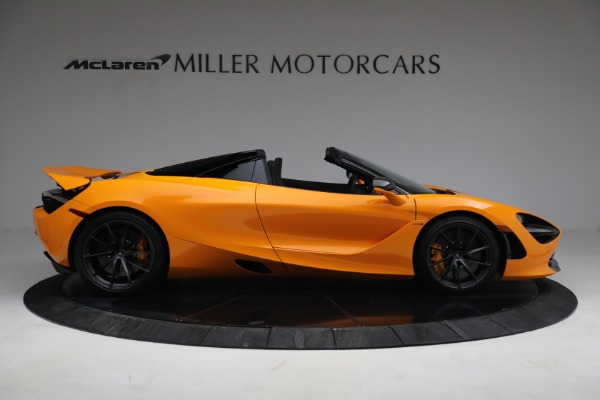New 2021 McLaren 720S Spider for sale $378,110 at Rolls-Royce Motor Cars Greenwich in Greenwich CT 06830 9