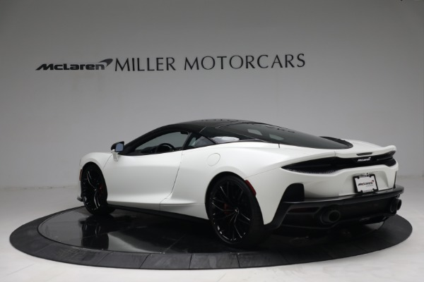 New 2021 McLaren GT Luxe for sale $217,205 at Rolls-Royce Motor Cars Greenwich in Greenwich CT 06830 5