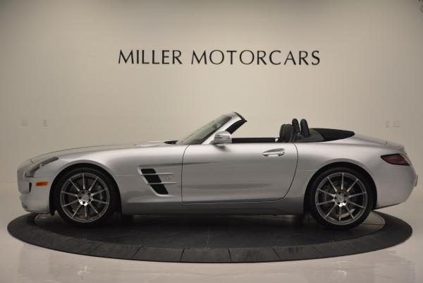 Used 2012 Mercedes Benz SLS AMG for sale Sold at Rolls-Royce Motor Cars Greenwich in Greenwich CT 06830 3