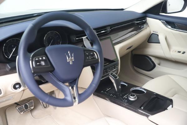 New 2021 Maserati Quattroporte S Q4 GranLusso for sale $126,149 at Rolls-Royce Motor Cars Greenwich in Greenwich CT 06830 13