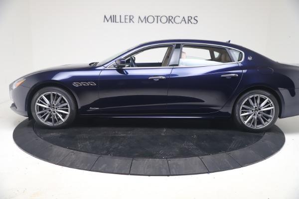 New 2021 Maserati Quattroporte S Q4 GranLusso for sale $126,149 at Rolls-Royce Motor Cars Greenwich in Greenwich CT 06830 3