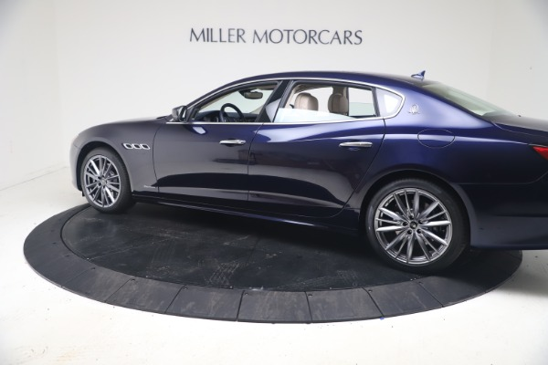 New 2021 Maserati Quattroporte S Q4 GranLusso for sale $126,149 at Rolls-Royce Motor Cars Greenwich in Greenwich CT 06830 4