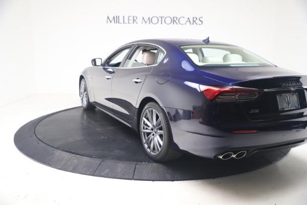 New 2021 Maserati Quattroporte S Q4 GranLusso for sale $126,149 at Rolls-Royce Motor Cars Greenwich in Greenwich CT 06830 5