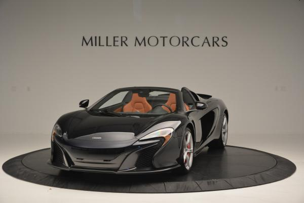 Used 2015 McLaren 650S Spider for sale Sold at Rolls-Royce Motor Cars Greenwich in Greenwich CT 06830 1