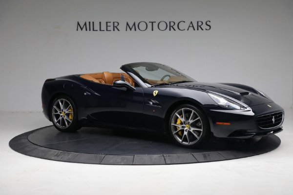 Used 2010 Ferrari California for sale Call for price at Rolls-Royce Motor Cars Greenwich in Greenwich CT 06830 10