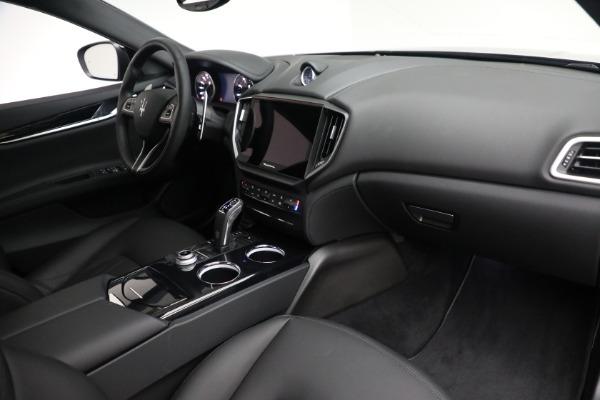 New 2021 Maserati Ghibli SQ4 for sale $92,894 at Rolls-Royce Motor Cars Greenwich in Greenwich CT 06830 25