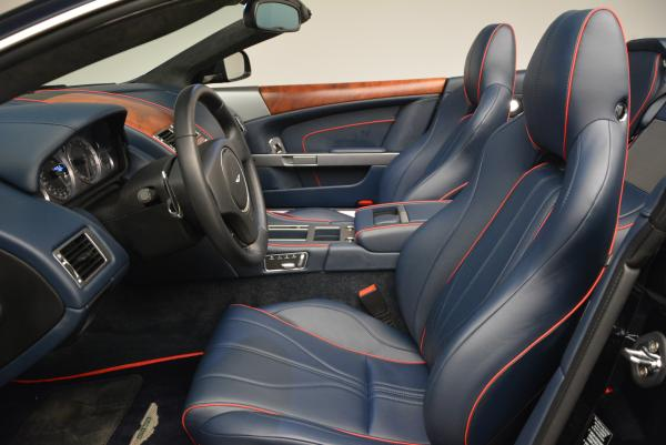 Used 2014 Aston Martin DB9 Volante for sale Sold at Rolls-Royce Motor Cars Greenwich in Greenwich CT 06830 13