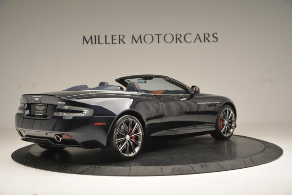Used 2014 Aston Martin DB9 Volante for sale Sold at Rolls-Royce Motor Cars Greenwich in Greenwich CT 06830 8