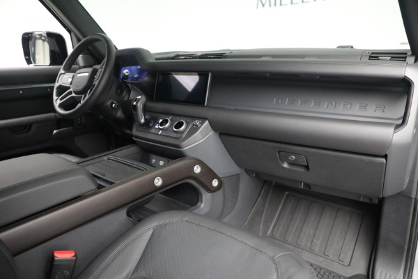 Used 2021 Land Rover Defender 90 X for sale $84,900 at Rolls-Royce Motor Cars Greenwich in Greenwich CT 06830 13