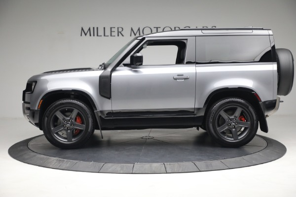 Used 2021 Land Rover Defender 90 X for sale $84,900 at Rolls-Royce Motor Cars Greenwich in Greenwich CT 06830 3