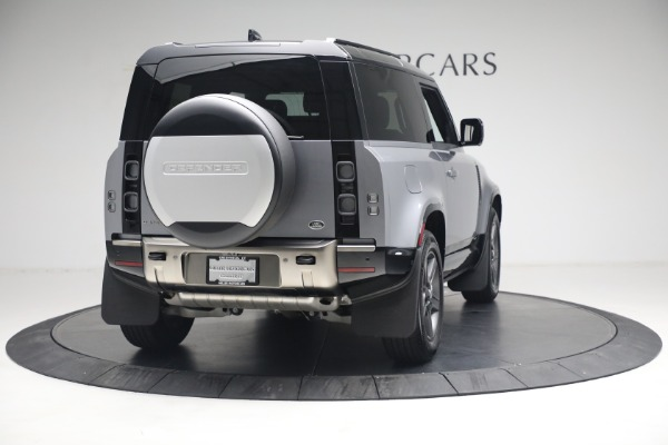 Used 2021 Land Rover Defender 90 X for sale $84,900 at Rolls-Royce Motor Cars Greenwich in Greenwich CT 06830 5