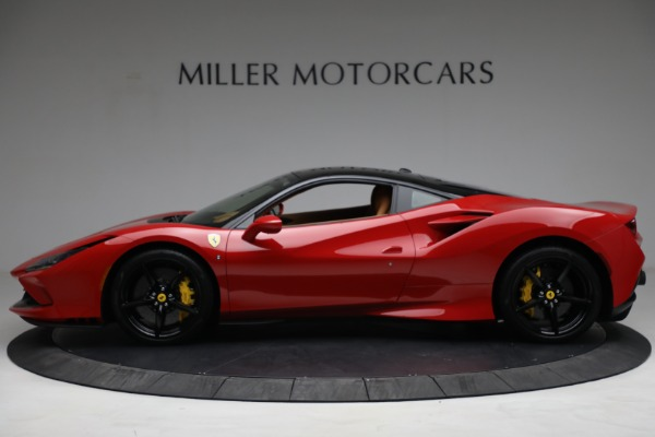 Used 2021 Ferrari F8 Tributo for sale Call for price at Rolls-Royce Motor Cars Greenwich in Greenwich CT 06830 3