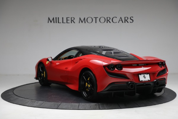 Used 2021 Ferrari F8 Tributo for sale Call for price at Rolls-Royce Motor Cars Greenwich in Greenwich CT 06830 5