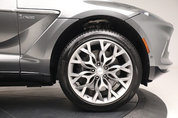 Used 2021 Aston Martin DBX for sale $199,900 at Rolls-Royce Motor Cars Greenwich in Greenwich CT 06830 22