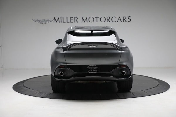 Used 2021 Aston Martin DBX for sale $199,900 at Rolls-Royce Motor Cars Greenwich in Greenwich CT 06830 5
