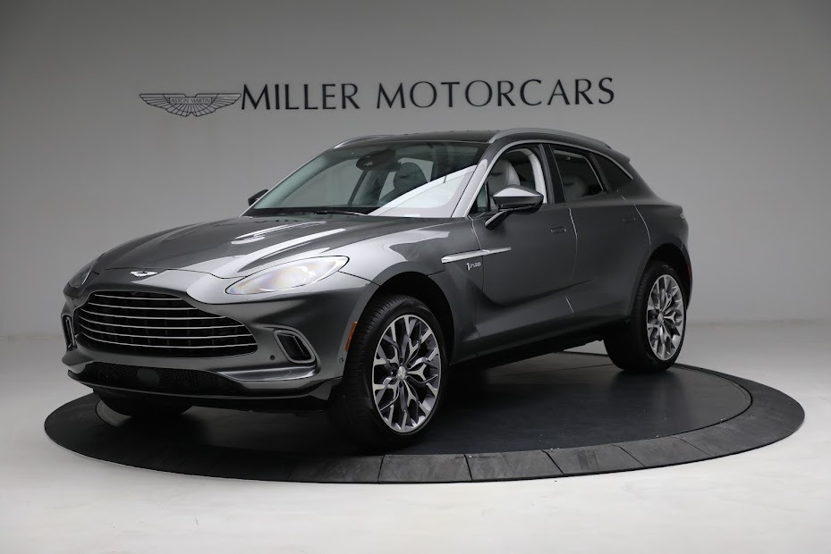 Used 2021 Aston Martin DBX for sale $199,900 at Rolls-Royce Motor Cars Greenwich in Greenwich CT 06830 1