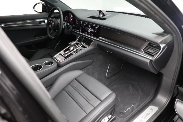 Used 2021 Porsche Panamera Turbo S for sale $204,900 at Rolls-Royce Motor Cars Greenwich in Greenwich CT 06830 26
