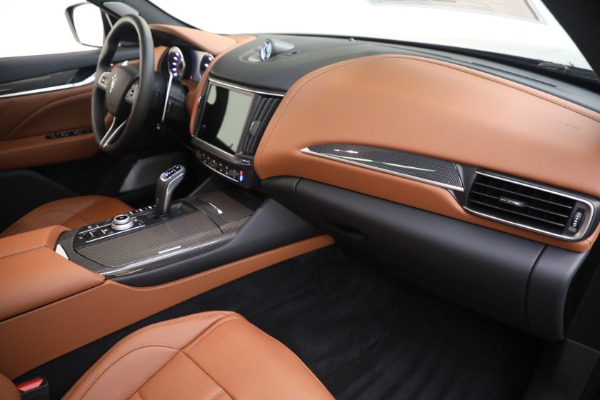 New 2021 Maserati Levante S GranSport for sale $112,799 at Rolls-Royce Motor Cars Greenwich in Greenwich CT 06830 21